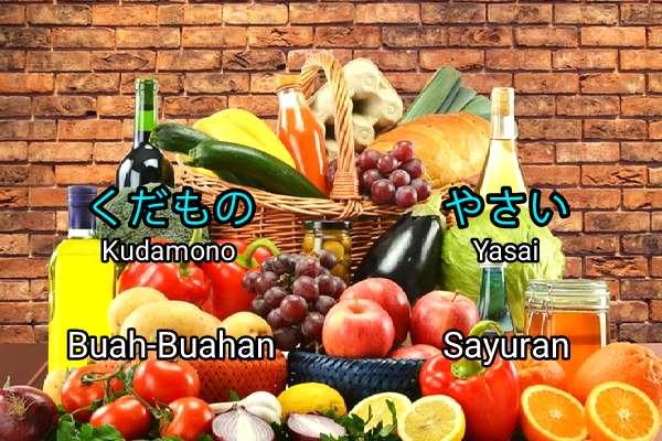 buah+dan+sayuran+bahasa+jepang